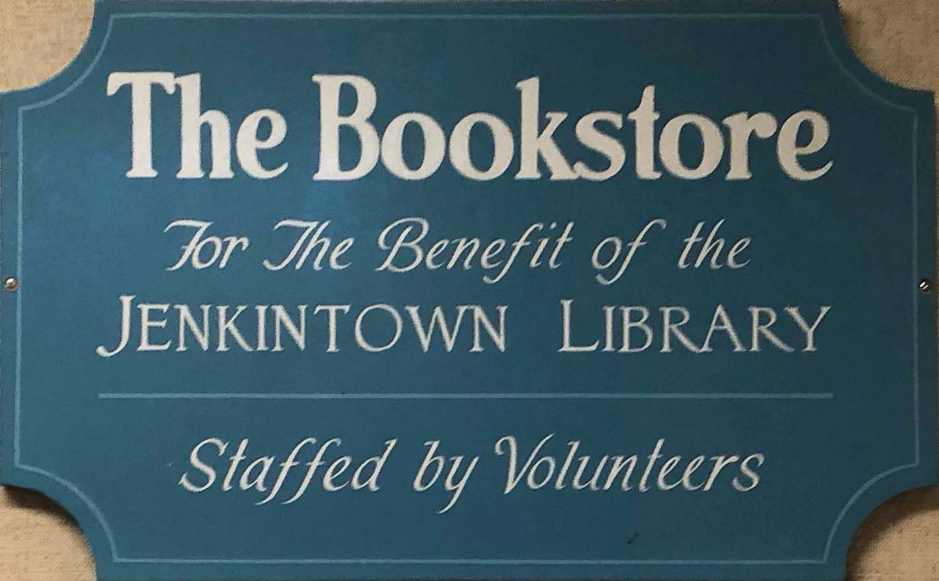 Bookstore for the benefit of Jenkintown Library, Staffed by Volunteers